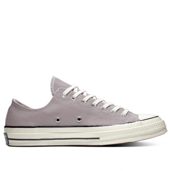 Converse Chuck 70 Low 'Mercury Grey' Mercury Grey/Black Canvas Shoes/Sneakers 161507C - 161507C