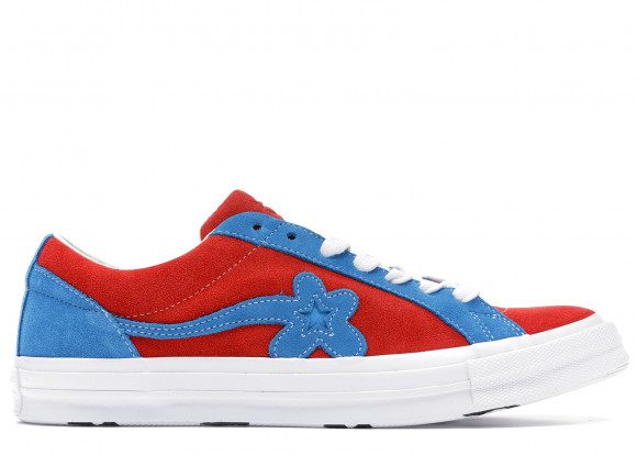 Converse One Star Ox Tyler the Creator Golf Le Fleur Red Blue - 162126C