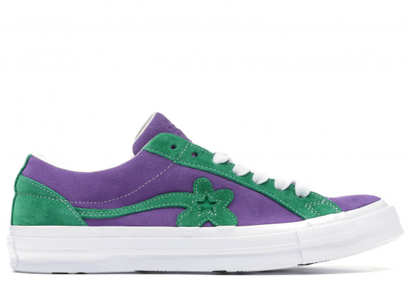 Converse One Star Ox Tyler the Creator Golf Le Fleur Purple Green - 162128C