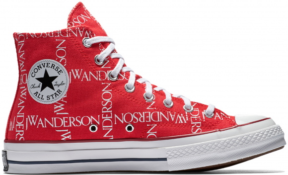 Converse Chuck Taylor All-Star 70s Hi Grid JW Anderson Red - 162290C
