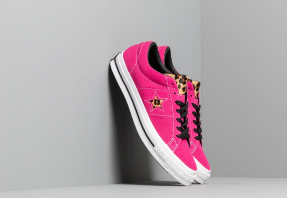 Converse One Star Active Fuchsia/ White/ Black - 163243C