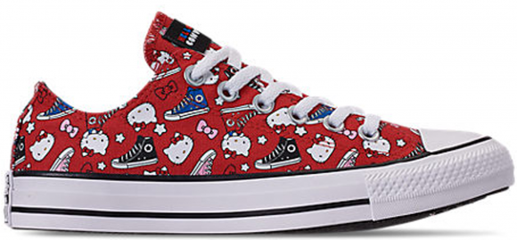 Converse Chuck Taylor All-Star Ox Hello Kitty Fiery Red (W) - 163913F
