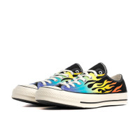 Converse Chuck Taylor All Star 70 Black/ Turf Orange/ Egret - 164407C
