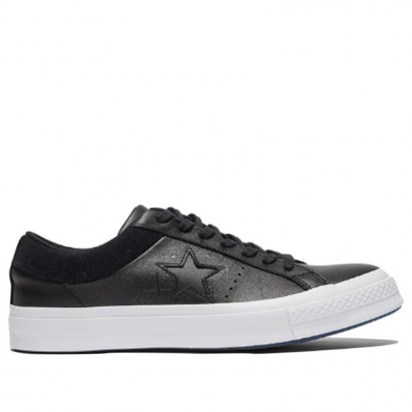 Converse One Star 'Black' Black/Grey Sneakers/Shoes 164473C - 164473C