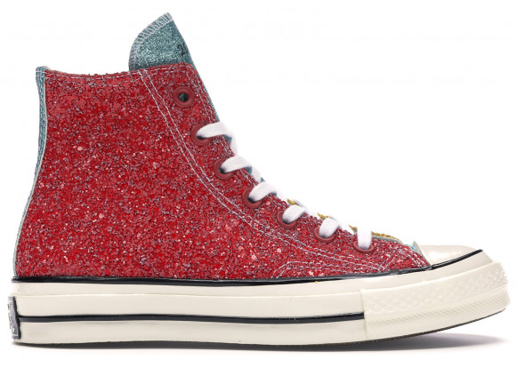 Converse Chuck Taylor All-Star 70s Hi JW Anderson Glitter Yellow Red - 164694C