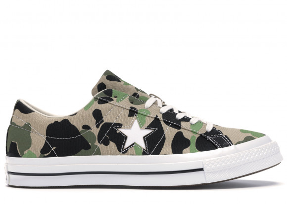 Converse One Star Ox Duck Camo - 165027C