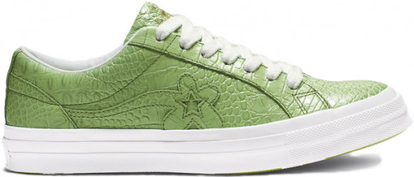 Converse One Star Ox Golf Le Fleur Faux Skin Green - 165525C