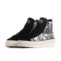 Mens Converse x PLEASURES Pro Leather - Black, Black - 165602C