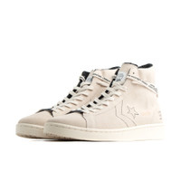 Mens Converse x Midnight Studios Pro Leather - White, White - 165630c