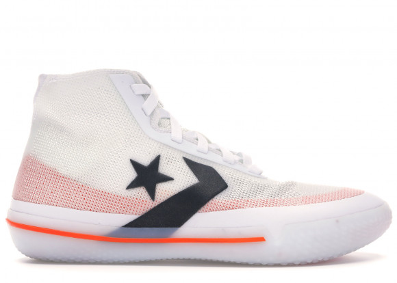 Converse All Star Pro BB White Black Orange - 165653C