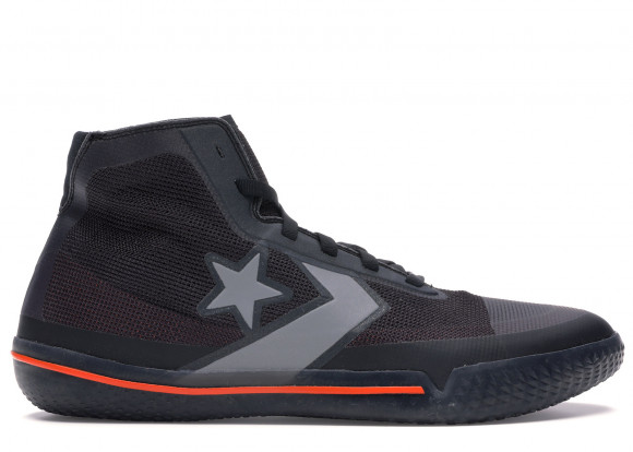 Converse All Star Pro BB Black Silver Orange - 165654C