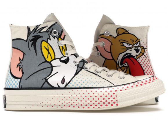 El actual vídeo algodón  Converse Chuck Taylor All-Star 70s Hi Tom and Jerry - 165734C