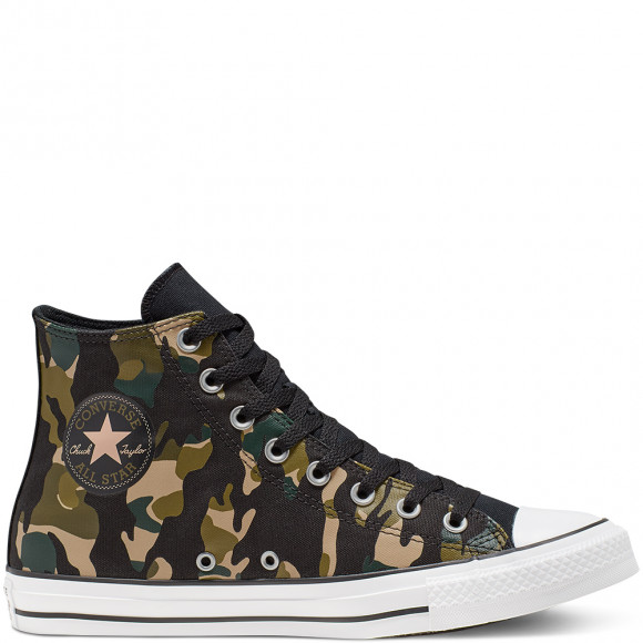 converse femme camouflage