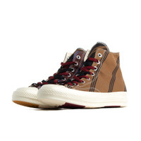 Converse Tan and Burgundy Chuck 70 High Sneakers - 167130C
