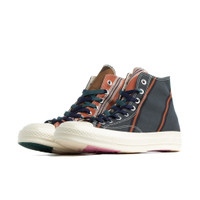 Converse Green and Orange Chuck 70 High Sneakers - 167131C
