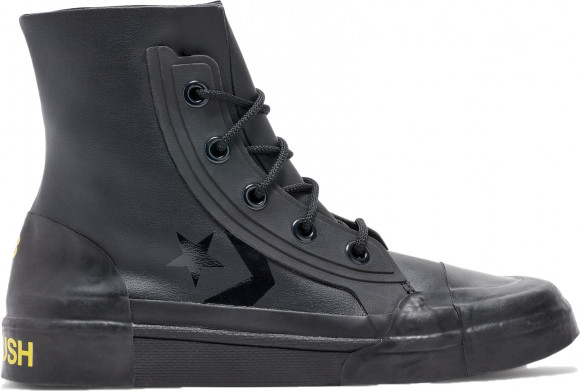 Mens Converse x AMBUSH Pro Leather - Black, Black - 167278C