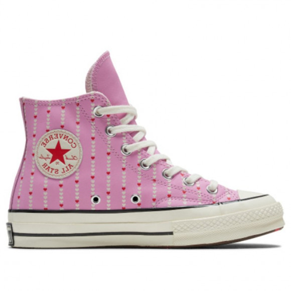 Converse Chuck 70 High 'Love Fearlessly - Peony Pink' Peony Pink/Egret Canvas Shoes/Sneakers 167345C - 167345C