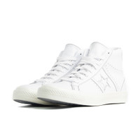 Mens Converse One Star QS - White, White - 167504C