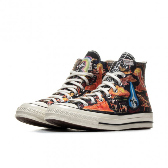 Converse Black Twisted Resort High Top Sneakers - 167761C