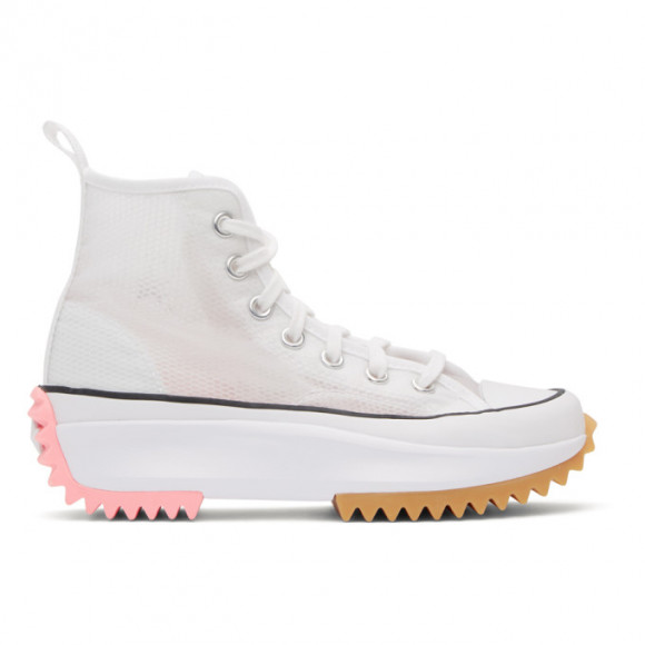 Converse Run Star Hike High Concrete Heat White - 167851C