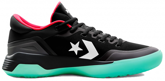 Converse G4 Black Solar Red Fresh Mint - 167938C