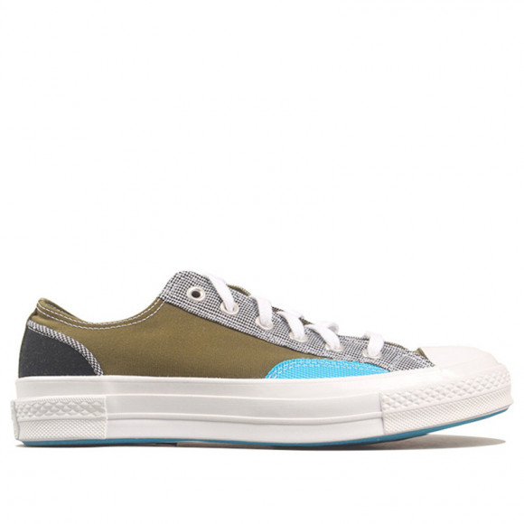 Converse Chuck 70 Low 'Hacked Fashion Mix n Match' Green/Black/Blue 168700C - 168700C