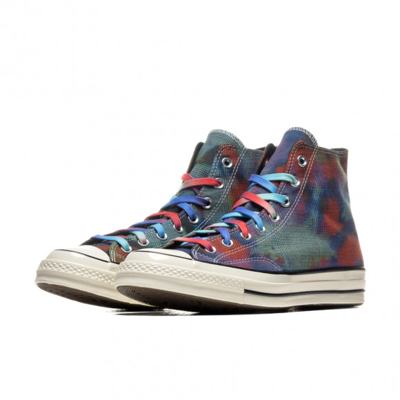 Converse Chuck Taylor All Star 70s 'Tie Dye' Women's, Multi/PLAID - 168752C