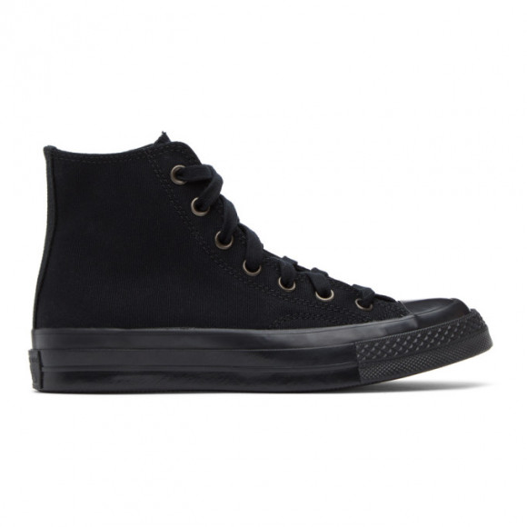 Converse Black Monochrome Chuck 70 High Sneakers - 168928C