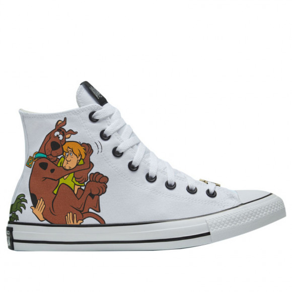 Converse Scooby-Doo x Chuck Taylor All Star High 'The Gang and Villains' White/Multi/Black Canvas Shoes/Sneakers 169076F - 169076F