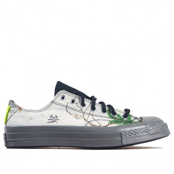 Converse Realtree x Chuck 70 GTX Low 'White' White/Grey/Yellow Canvas Shoes/Sneakers 169366C - 169366C