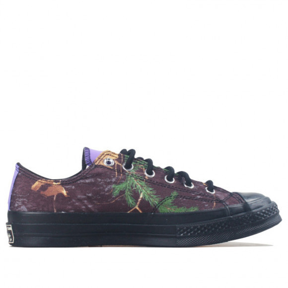Converse Realtree x Chuck 70 GTX Low 'Black' Black/Purple/Yellow Canvas Shoes/Sneakers 169367C - 169367C