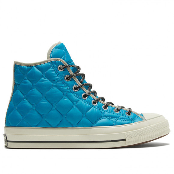 Converse Chuck 70 High 'Workwear Quilting - Sail Blue' Sail Blue/Birch Bark/Egret Canvas Shoes/Sneakers 169373C - 169373C