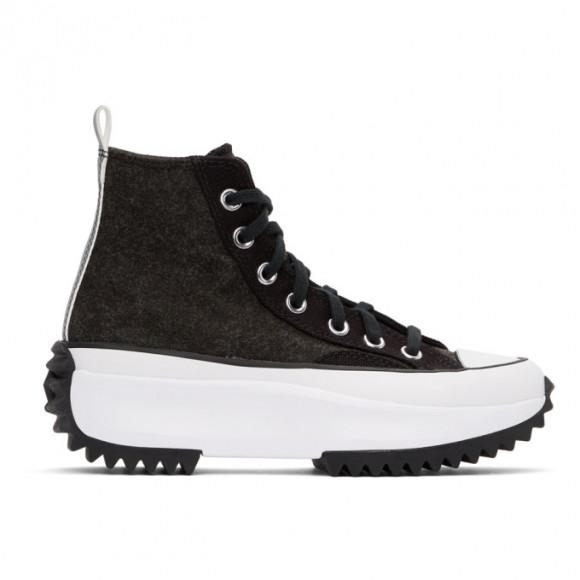 Converse Black Run Star Hike High-Top Sneakers - 169437C
