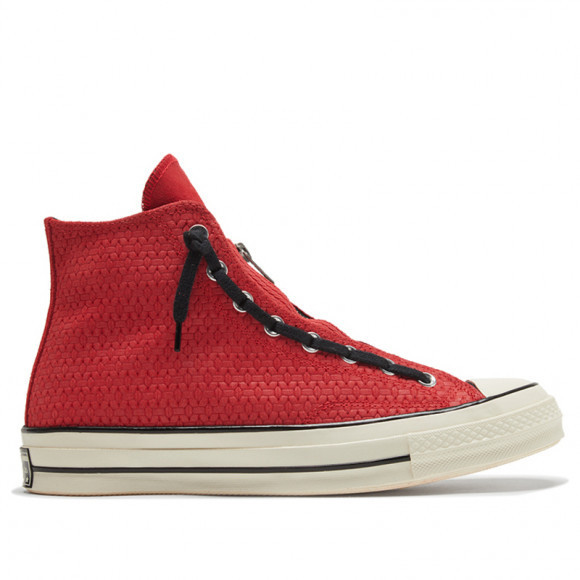 Converse Chuck 70 Zip High 'University Red' University Red/Black/Egret Canvas Shoes/Sneakers 169440C - 169440C