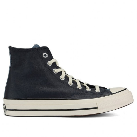 Converse Chuck 70 Leather High 'Colorblock - Obsidian Blue' Obsidian/Lakeside Blue/Egret Sneakers/Shoes 169581C - 169581C