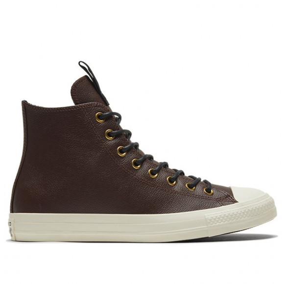 Converse Chuck Taylor All Star Leather High 'Dark Root' Dark Root/Black/Egret Sneakers/Shoes 169659C - 169659C