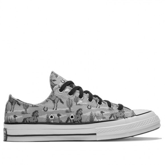 Converse Chuck 70 Low 'Twisted Resort - Old Western' Washed Denim/Multi/Egret Canvas Shoes/Sneakers 169820C - 169820C
