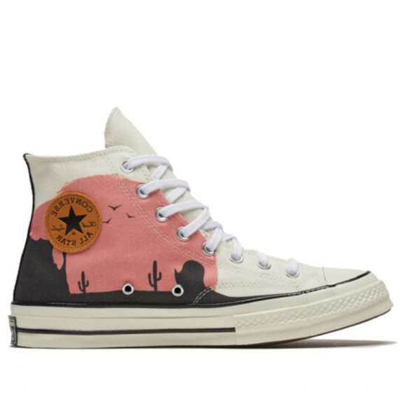 Converse Chuck 70 High 'Twisted Resort - Old Western Sunset' Egret/Multi/Egret Canvas Shoes/Sneakers 169821C - 169821C