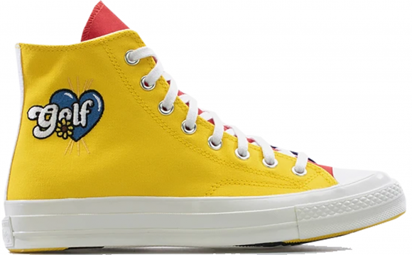 Converse Multicolor Golf Le Fleur Edition Chuck 70 High Sneakers - 169910C