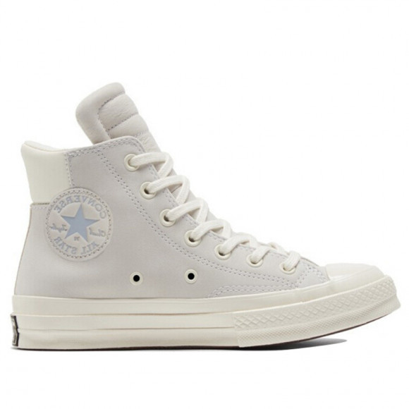 Converse Chuck 70 Padded Collar High 'Anodized Metals - Egret' Egret/Gravel/Egret Canvas Shoes/Sneakers 170267C - 170267C