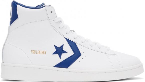 Converse Pro Leather White/ Rush Blue/ White - 170359C