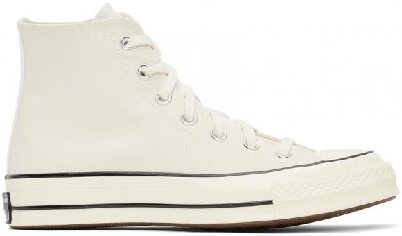 Converse Off-White & Tan Tri-Panel Chuck 70 Sneakers - 170958C