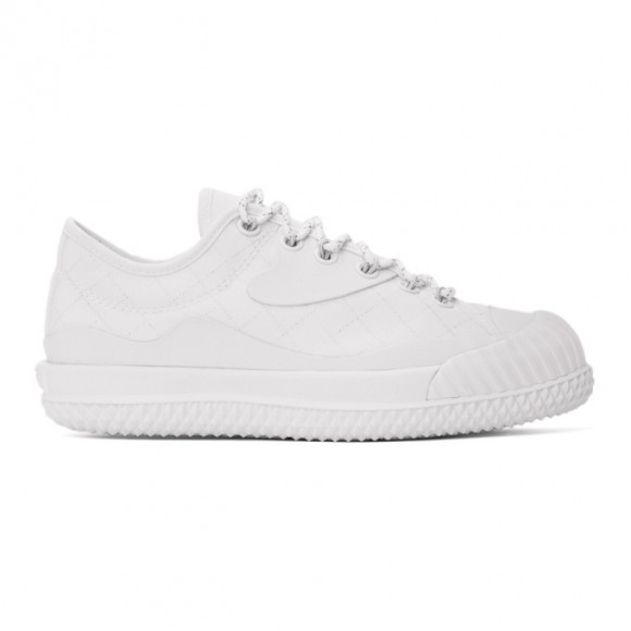 Converse White Slam Jam Edition Bosey MC OX Sneakers - 171224C