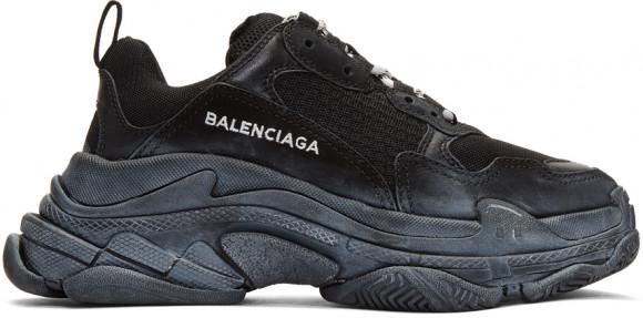 Balenciaga Triple S Triple Black (W) - 172342F128017