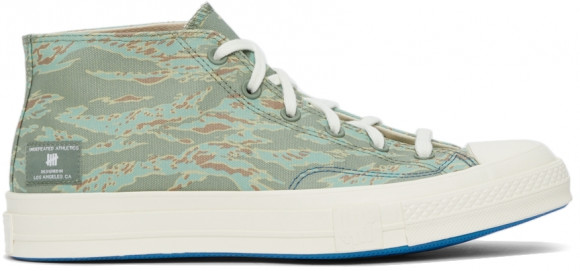 Converse Chuck Taylor All-Star 70 Mid Undefeated Forest - 172397C