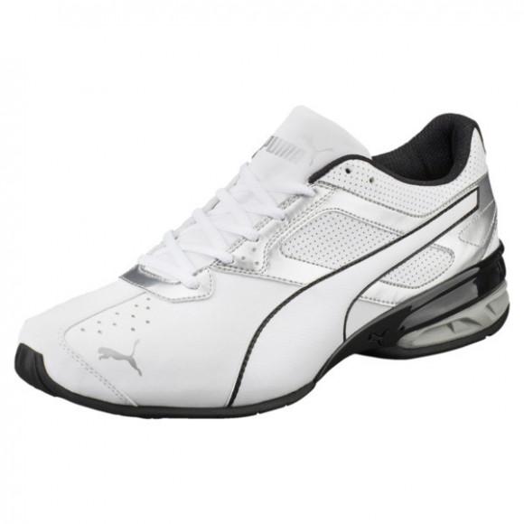 PUMA Tazon 6 FM Men's Sneakers in White/Silver/Black - 189873-01