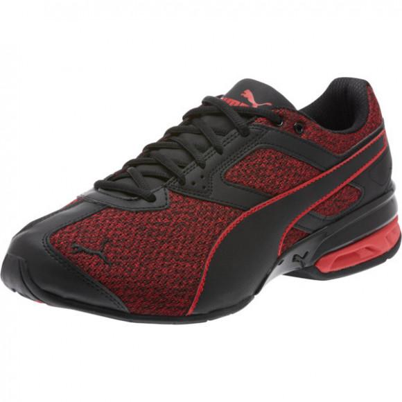 PUMA Tazon 6 Knit Men's Sneakers in Black/Toreador - 189971-01