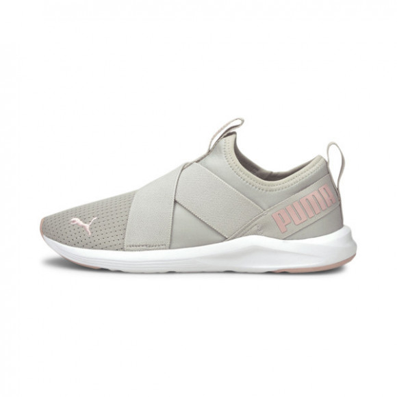 PUMA Prowl Slip On Women's Training Shoes in Grey/Violet/Lotus - 193078-17