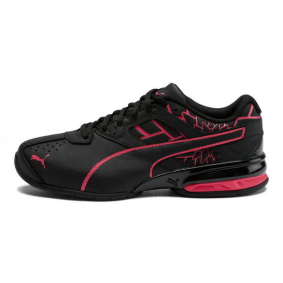 PUMA Tazon 6 Graphic Women's Sneakers in Black/Nrgy Rose - 193611-01
