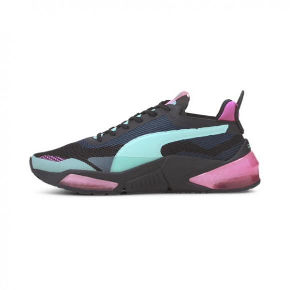 PUMA LQDCELL Optic XI Women's Training Shoes in Black/Aruba Blue/Pink - 193658-05